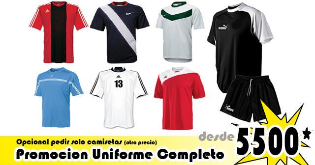 c94a07bc671be Uniformes de futbol  Camisetas de futbol